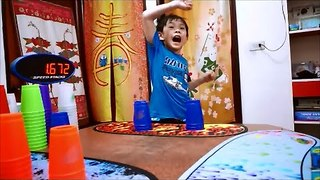 This Kid Can Stack Cups Crazily Fast - Video