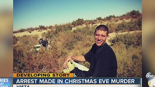Arrest Made in Brutal Christmas Eve Murder - Video