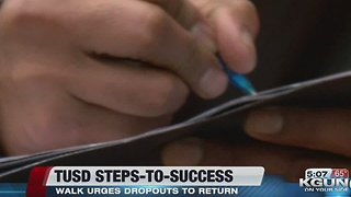 'Steps to Success' to get TUSD students back in school - Video
