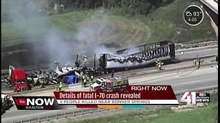 Officials ID victims of I-70 crash that killed 5 - Video