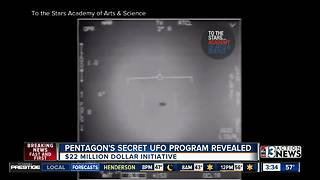 Pentagon's secret UFO program has been revealed - Video