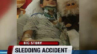 Mountain Home teen in serious condition after Christmas Day sledding accident - Video