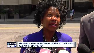 Hearing puts Pistons future at Little Caesars arena in jeopardy - Video