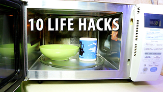 10 kitchen hacks that you need to know - Video