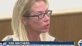 Kim Mathers sentenced - Video