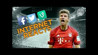 Bayern Munich 5-1 Arsenal | Internet Reacts - Video