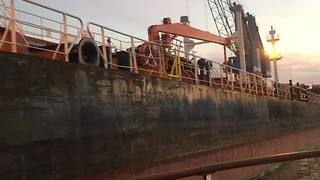 Urban Pirates comes to rescue of men stranded on ship - Video