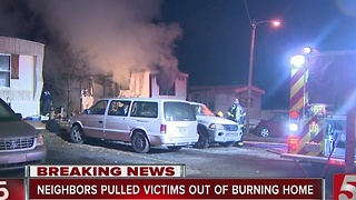 2 Children Killed In Madison Mobile Home Fire - Video