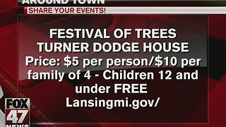 Around Town 12/20/16: Festival of Trees - Video