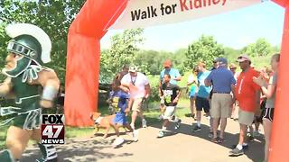 19th annual Greater Lansing Kidney Walk - Video