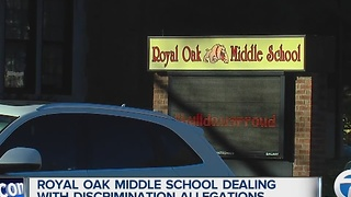 New allegations of discrimination at Royal Oak Middle School