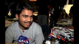 Students create Mars navigation tool - Video