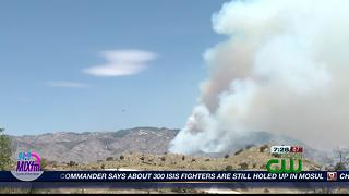 Burro Fire update