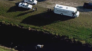 Chopper 5: Truck crashes into Port St. Lucie canal, killing one person - Video