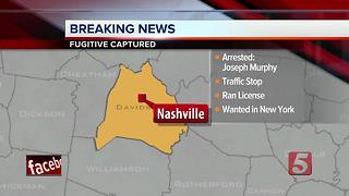 New York Fugitive Captured In Nashville - Video