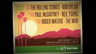Stones, Dylan, McCartney confirmed for festival - Video