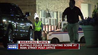 Buffalo police investigating incident at William Street post office