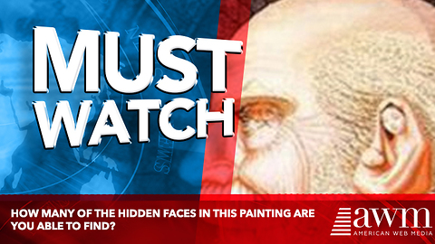 How Many Of The Hidden Faces In This Painting Are You Able to Find?