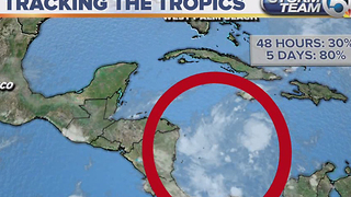 Low pressure Invest 90L likely to become tropical depression - Video