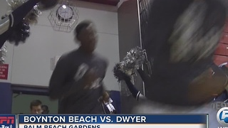 Dwyer Basketball Tops Boynton - Video