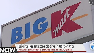 Original KMart store closing - Video