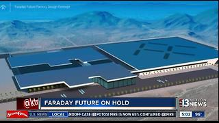 Faraday Future in North Las Vegas on hold - Video