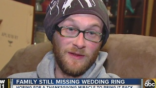 Family hoping to find one of a kind family heirloom - Video