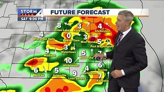 Brian Gotter's Friday 5 pm Storm Team 4Cast - Video
