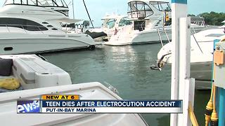 Man dies from electric shock drowning on Put N Bay - Video
