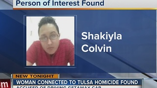 Police locate person of interest in Tulsa murder - Video