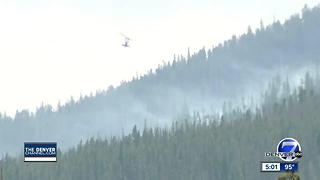 Peak 2 Fire was human-caused; investigators announce search for two people seen near fire's origin - Video