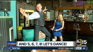 Free swing dance lessons at The Duce - Video