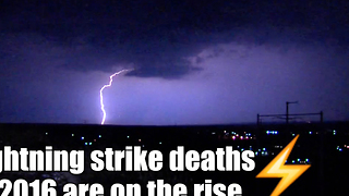Lightning deaths in 2016 are on the rise - Video