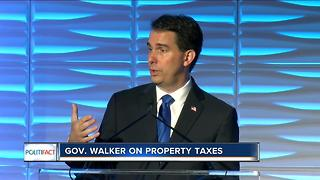 PolitiFact: Gov. Walker on property taxes - Video