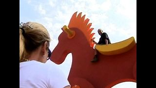 World's Biggest Rocking Horse - Video