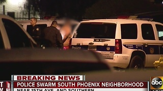 Domestic dispute suspect arrested in Phoenix after lengthy standoff - Video