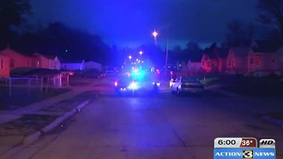Shooting investigation at 35th and Fort Street - Video