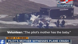 911 call released from Brookfield plane crash that killed 1 - Video