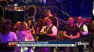 Firefighter auction held Friday at SLS Las Vegas - Video
