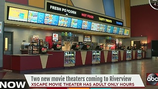 New Xscape movie in Riverview theater has adult only hours - Video