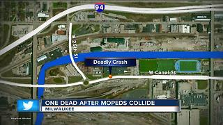 Oak Creek man dies in Milwaukee from moped accident - Video