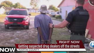 Sheriff's office announces several drug-related arrests in Martin County