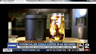 Cool coffee in 60 seconds with the Hyperchiller - Video