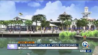Jupiter Planning and Zoning board postpones vote on controversial Love Street plan - Video