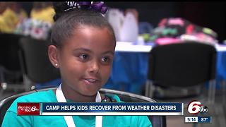 Camp helps kids recover from weather disasters