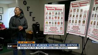 Families of murder victims seek justice - Video