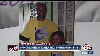 Dad on a mission to help those with rare disease - Video