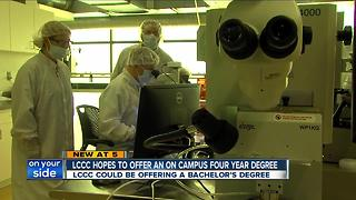 Lorain County Community College could offer bachelor's degree in one of its most successful fields - Video