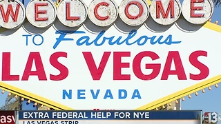Security increases in Las Vegas as New Year's Eve approaches