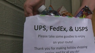 Boise woman leaves doorstep